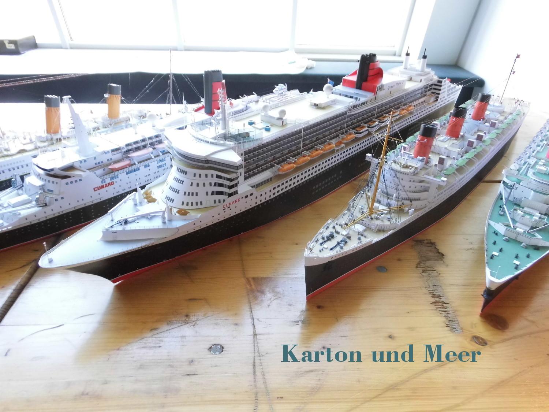 29 Internationale Kartonmodellbau Ausstellung Bremerhaven