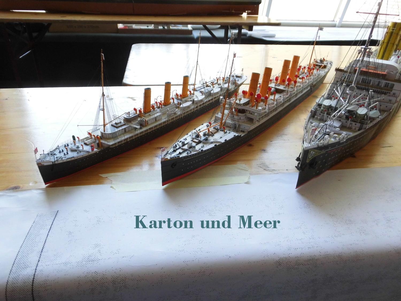 Ig Kartonmodellbau Bremen Und Umzu Karton Und Meer