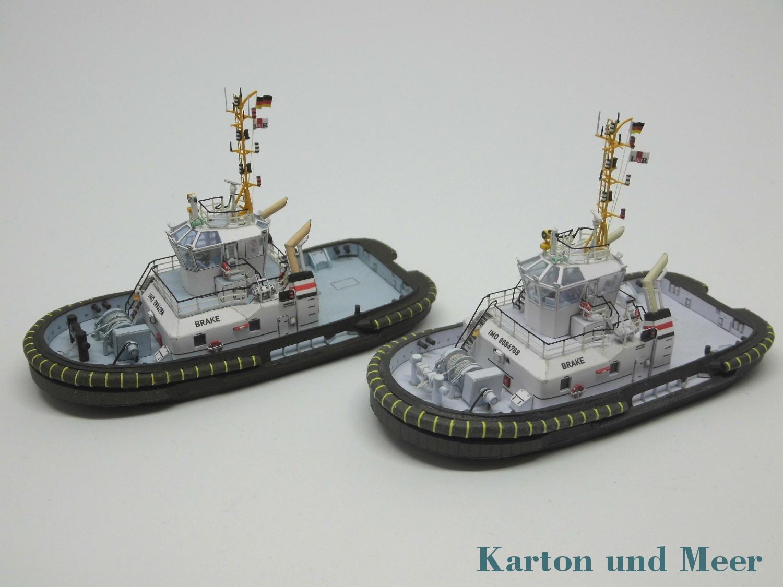 August   2017   Karton und Meer